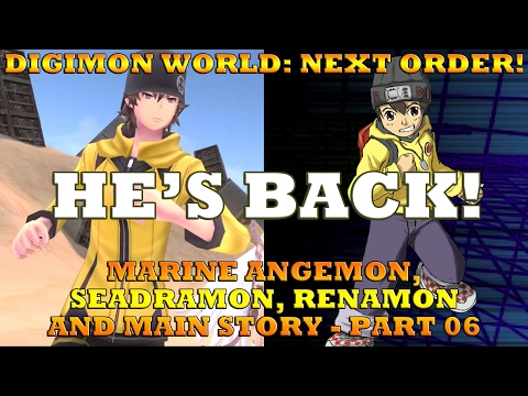 Digimon World Next Order - Marine Angemon | Seadramon | Rena