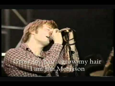 RADIOHEAD   ANYONE CAN PLAY GUITAR Live,Lyrics