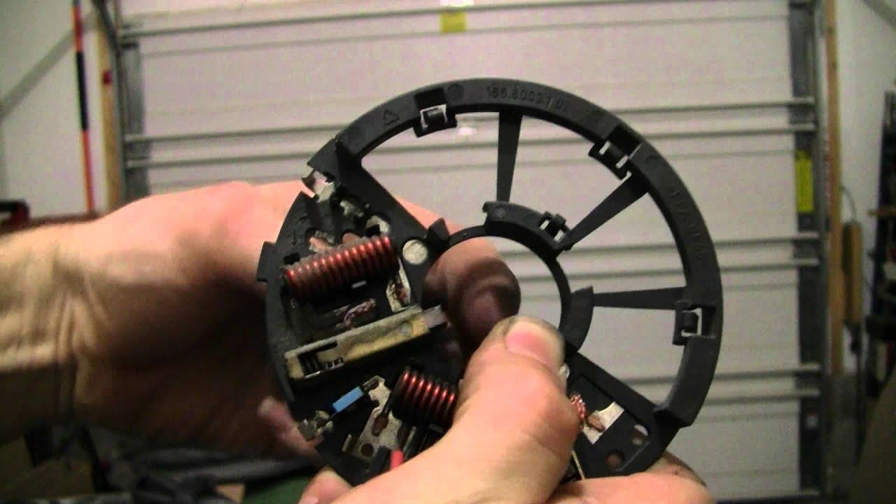 Failed 2006 Vw Tdi Cooling Fan Motor Youtube