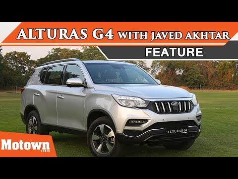 Mahindra Alturas G4 launch with Javed Akhtar