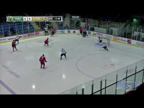 Filip Zadina 4G Vs Charlottetown | Feb 6, 2018 | NHL Prospect | Halifax Mooseheads | QMJHL