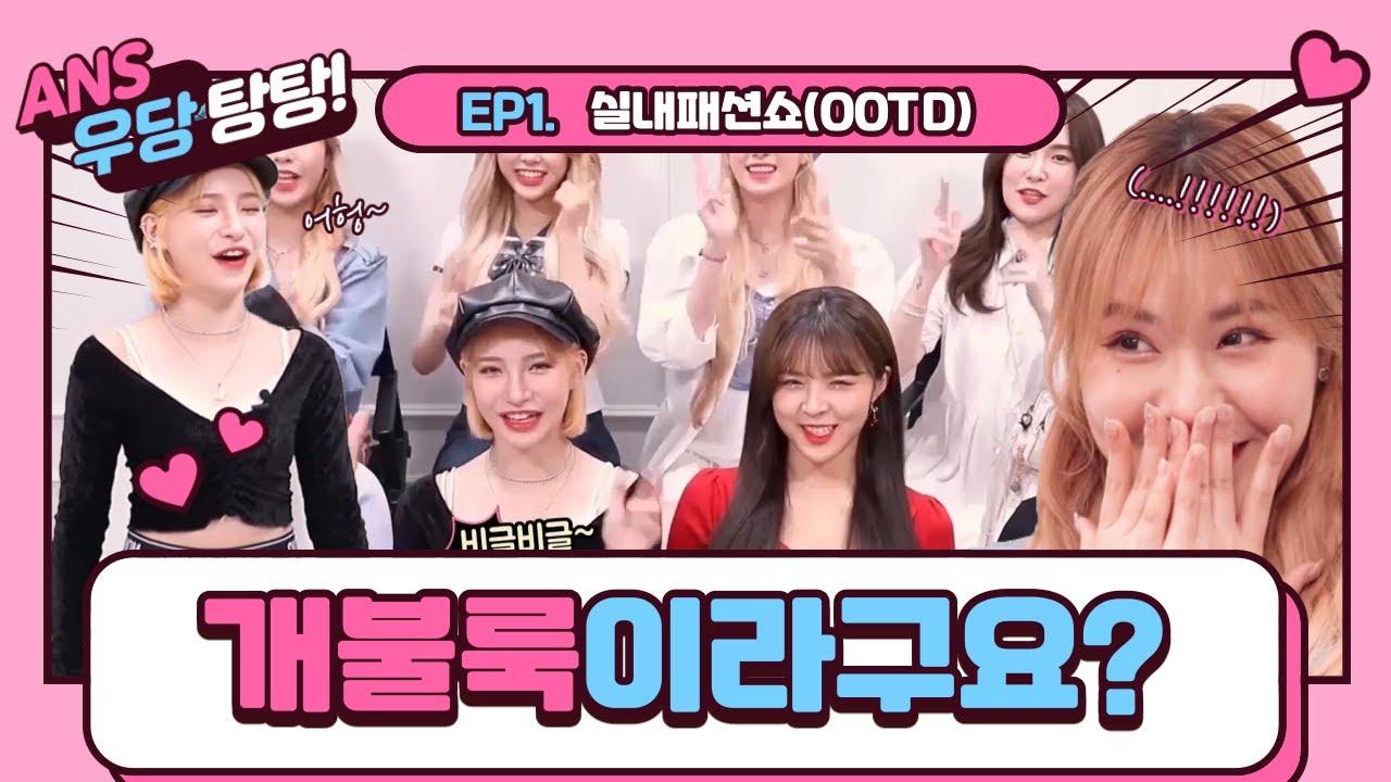 ANS의 우당탕탕 EP01 - OOTD 실내패션쇼