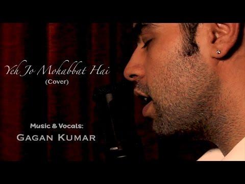 Yeh Jo Mohabbat Hai - Kishore Kumar | Cover By Gagan Kumar