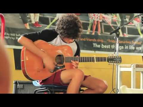 John Buttigieg playing Ocean by John Butler LIVE at Rusty's Markets