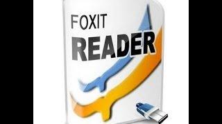 شرح تعريب برنامج  foxit reader