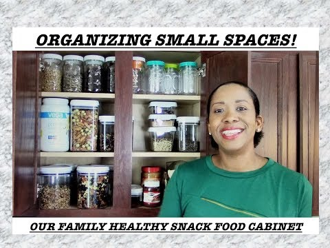 ORGANIZING SMALL SPACES| SUPER FOODS