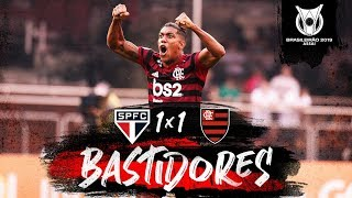 São Paulo 1 x 1 Flamengo - Bastidores