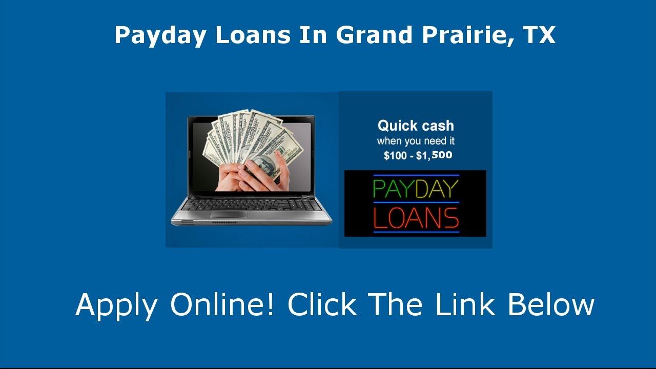 Payday Loans Grand Prairie, TX