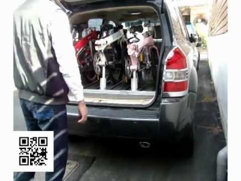 Folding Bicycle Car Carrier Jsk Taiwan Youtube