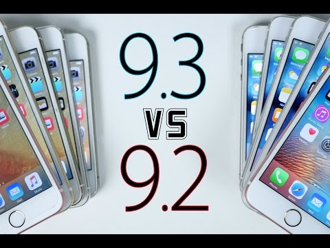 iOS 9.3 vs iOS 9.2 Speed Test - Is It Faster?
