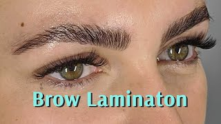 BROW LAMINATION Tutorial | Brow Code