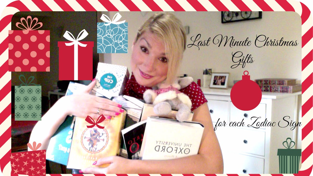 Last Minute Christmas Gifts Ideas for each Zodiac Sign - YouTube