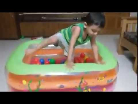 child baby play ball house play portable bath tub with ball bangladesh youtube. Black Bedroom Furniture Sets. Home Design Ideas