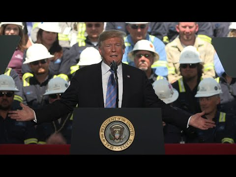 Trump uses energy speech to mock 2020 Democrats