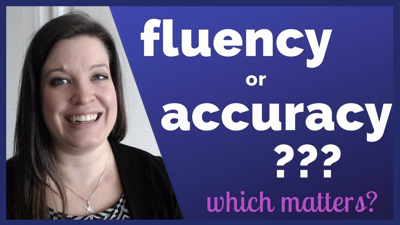 the importance of fluency and accuracy American reading statistics the importance of reading fluency and accuracy problems severe enough to hinder their enjoyment of readingâ the importance of reading success reading failure has been linked to the development/exacerbation of many negative outcomes including: dropping out of.