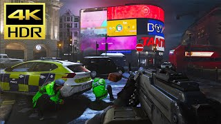"Call of Duty: MODERN WARFARE (PS4 Pro) 4K HDR Gameplay ""London Attack"" @ ᵁᴴᴰ 60ᶠᵖˢ ✔"