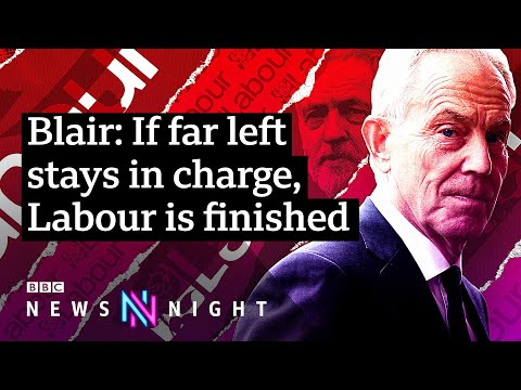 Tony Blair on the Labour Party crisis - UNCUT INTERVIEW - BBC Newsnight