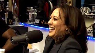 Kamala Harris Jokes About Marijuana Use
