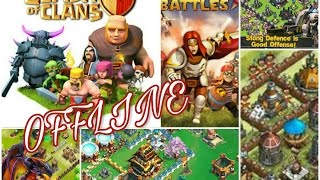 Clash Of Clans Alternative Offline Game's Android/iOS