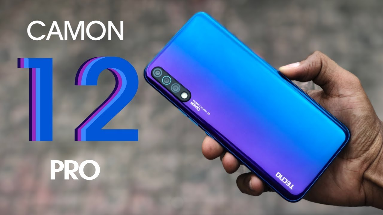 TECNO Launched Upgraded Camera Smartphone CAMON 12