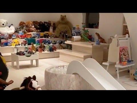 Kim Kardashian Reveals Lavish Kids' Playroom