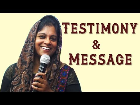 Hindi Testimony & Message | Sister. Persis John