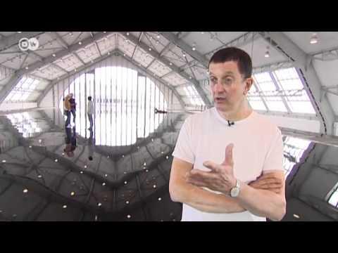 "Antony Gormleys Installation ""Horizon Field Hamburg"" | Euromaxx"