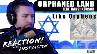 Guitarist REACTS To Orphaned Land - Like Orpheus (First Listen!) [World Tour Day 19: Israel]