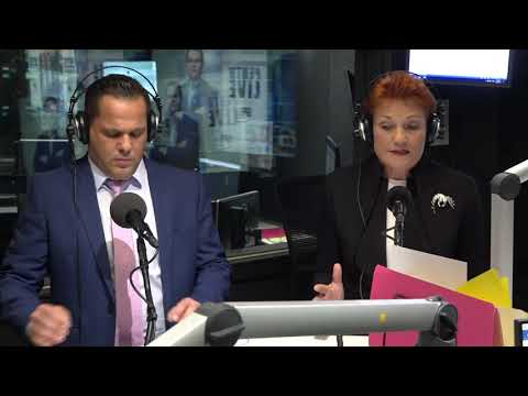 6PR Radio Interview with Pauline Hanson
