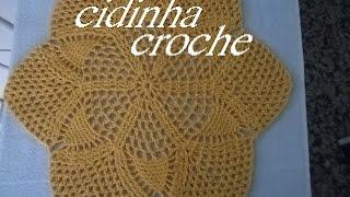 Croche- Tapete Facil-Para Iniciantes 01- Passo A Passo- Tutorial Completo.