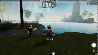 Exploring the new map in Magic Training (ROBLOX)