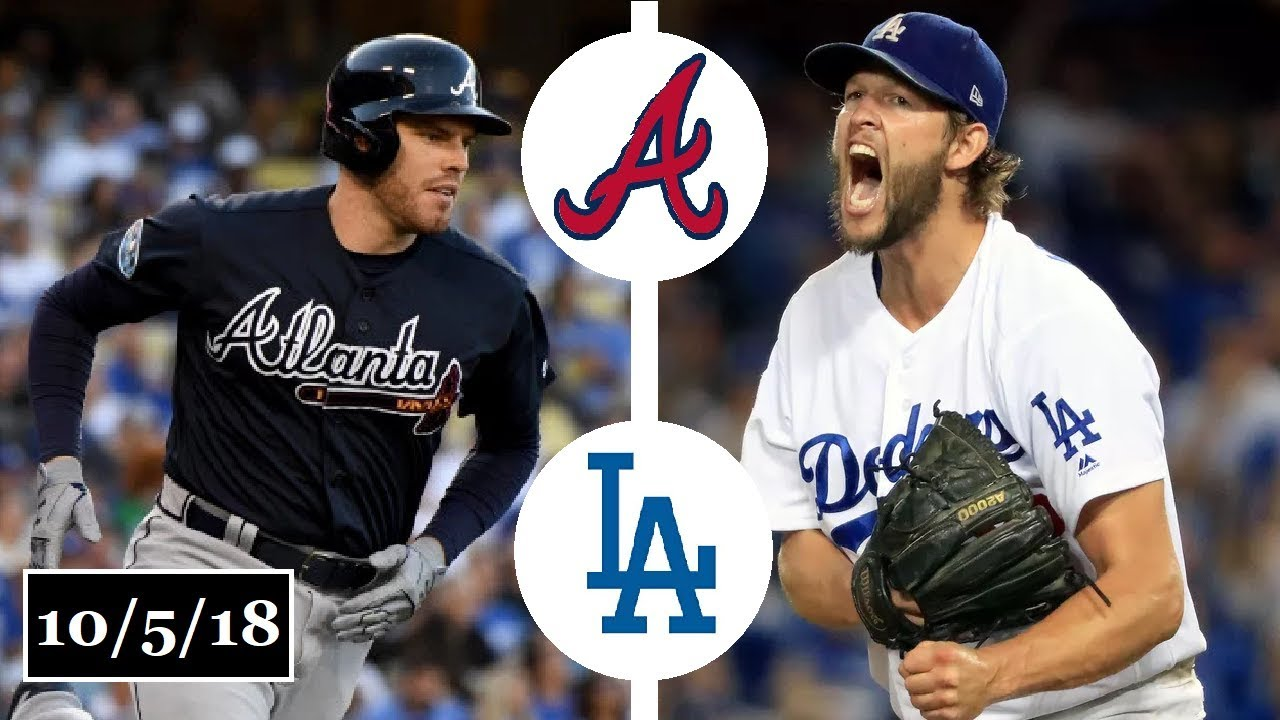 buy online 89ddd 99d5d Atlanta Braves vs Los Angeles Dodgers Highlights || NLDS Game 2 || October  5, 2018