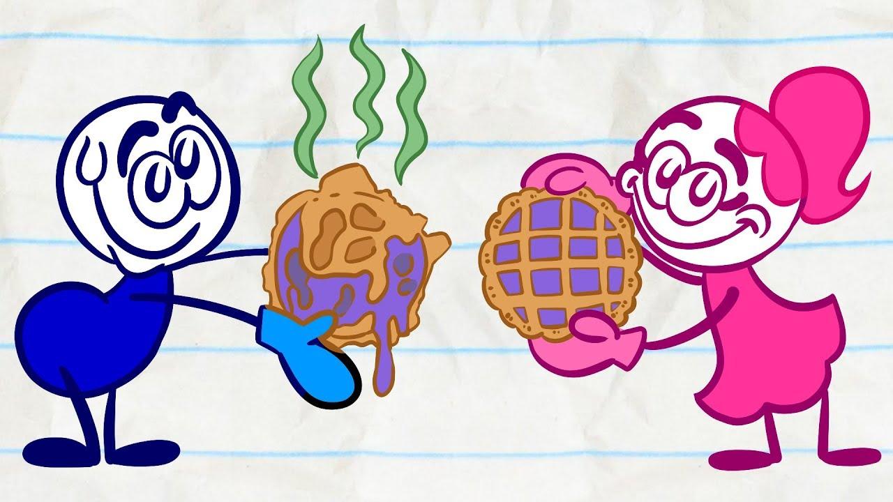 Pencilmate's SUGAR Showdown! | Animated Cartoons Characters | Animated Short Films