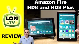 Amazon Fire HD8 and HD8 Plus Full Tablet Full Review - 2020 Version