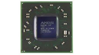 Ремонт ноутбука Acer 5552 замена северного моста 216-0752001 RS880M