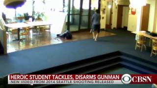 Surveillance video from Seattle Pacific University shooting