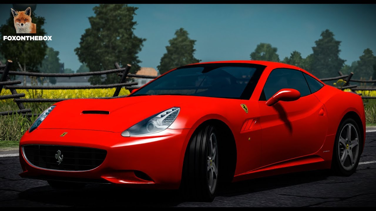Ferrari California Euro Truck Simulator 2 Ets2 1 28 Mod Youtube