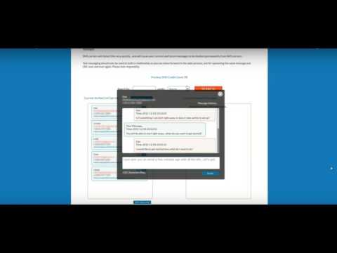 SMS Chat / SMS Messaging Demo
