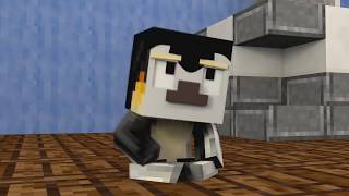 WHO'S YOUR DADDY? Baby Poop Disaster Animated! (Minecraft Animation)