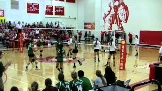 Natalie Martinez volleyball highlights high school season (pt 2) 2013