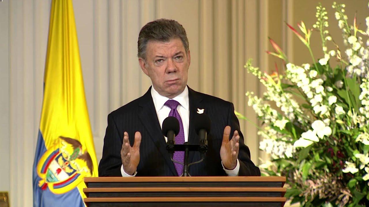 CÁtedra Por La Paz: Palabras Del Pdte. Juan Manuel Santos, Firma Del Decreto