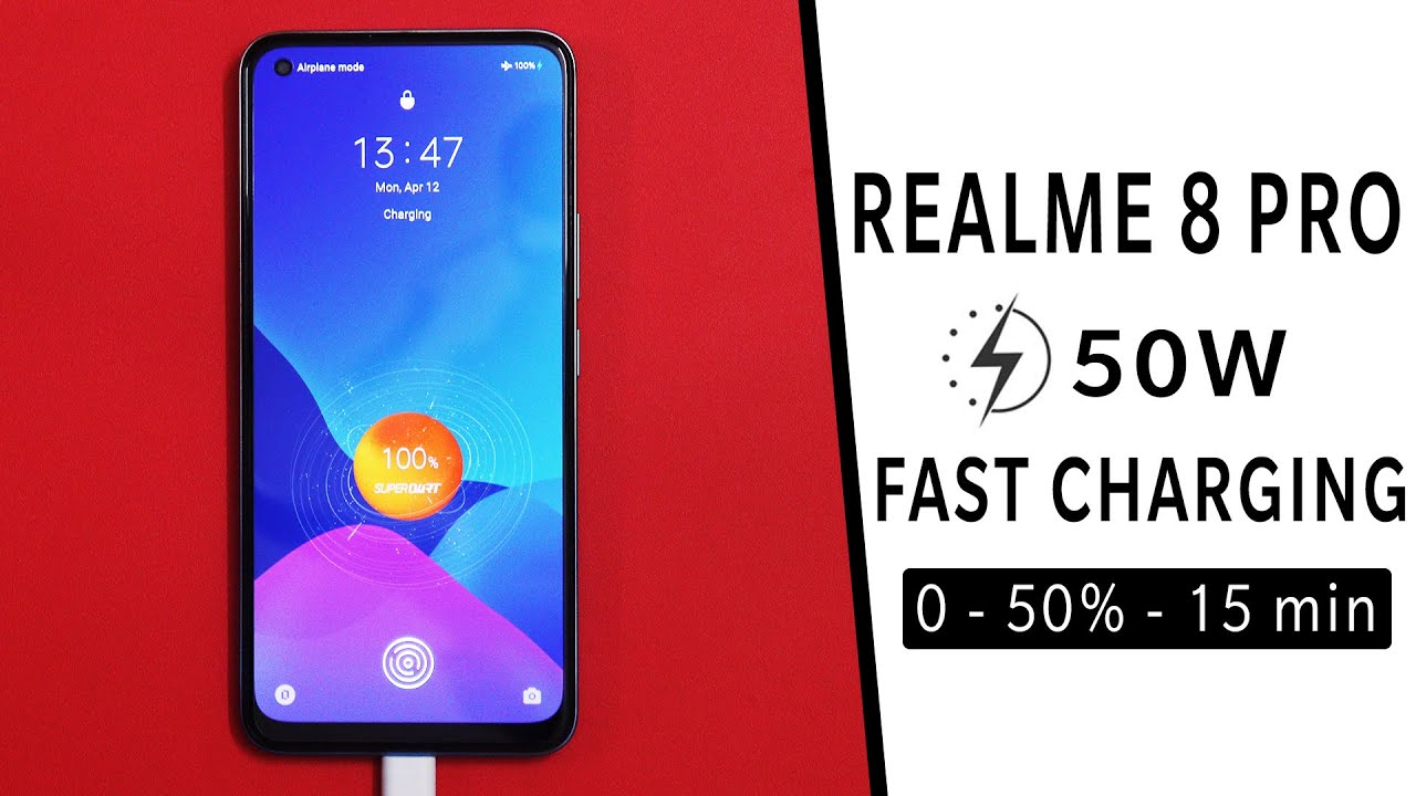 Realme 8 Pro fast charging test tamil | Realme 8 Pro 50W battery charging test time tamil #Shorts