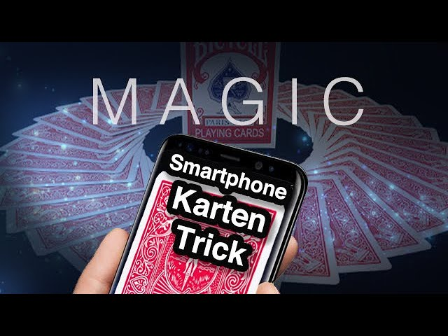 Smartphone Zaubertricks voll Easy