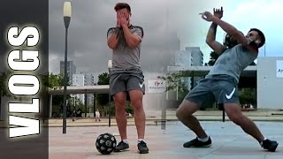 Casi me rompo, Coche Football Tricks Online & Freestyle fútbol - Guido FTO vlogs diarios