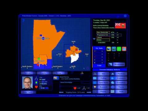 Manitoba 2003 Election Game (PC)