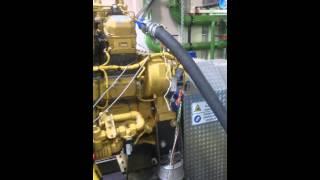 Cat 3512 dumptruck engine fullload test