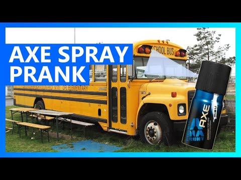 Axe body spray causes school bus evacuation in Florida