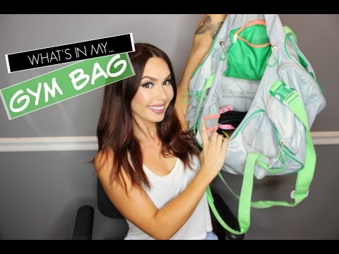 6a6efca65015 What s in My Gym Bag - YouTube