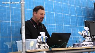 "World Maker Faire 2014: Prof  Martin Mason - ""Building Better Robots"""
