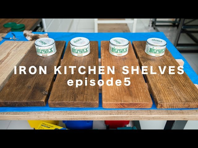 [DIY] Iron Kitchen shelves ep.5 ? ????????????